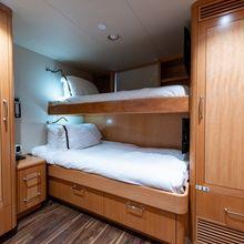 Amicitia Yacht Crew quarters