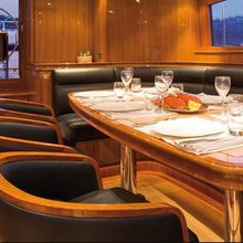 Seabiscuit Yacht Pilot House Table
