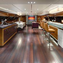 Kokomo III Yacht Saloon - Aft