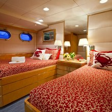 Rena Yacht Red Twin Stateroom