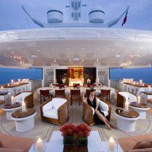 Bad Girl Yacht Aft Deck