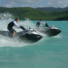 Ice Angel Yacht Jet Skis
