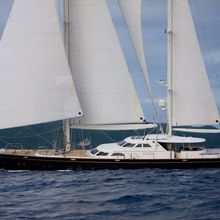 Norfolk Star Yacht Side View