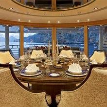 Ventum Maris Yacht Table Setting