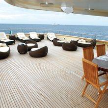 Ariete Primo Yacht Deck
