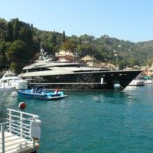 Nonni II Yacht Moored