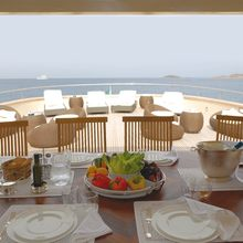 Ariete Primo Yacht Alfresco Dining & Seating
