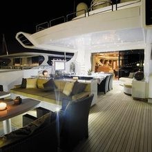Force India Yacht Aft Deck Saloon