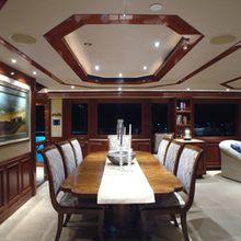 Nina Lu Yacht Dining Salon