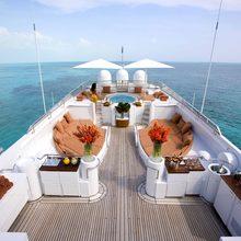 Bad Girl Yacht Sun Deck