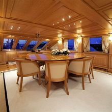 Enigma Yacht Meeting Room