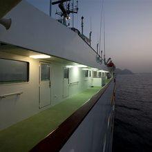 Al Mabrukah Yacht Exterior Side