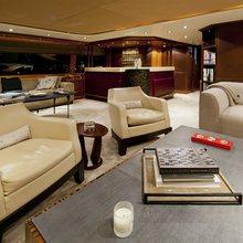 Il Sole Yacht Bridge Deck Salon