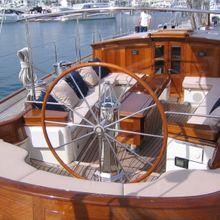 Seabiscuit Yacht Cockpit