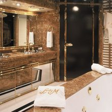 Lady M II Yacht Master Bathroom