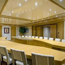 Neom Yacht Dining Room