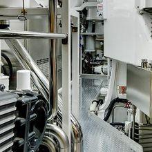 Kokomo III Yacht Engine/Mechanical Area