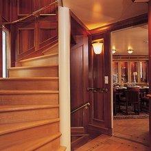Elsa Yacht Stairway & Dining