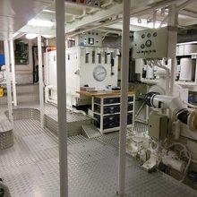 Elsa Yacht Engine/Mechanical Area