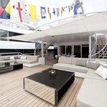 Mogambo Yacht Upper Deck - Aft