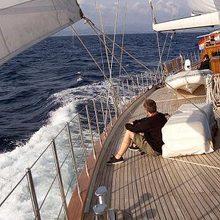 Kairos II Yacht Deck