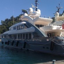 Lady MM Yacht Exterior Side