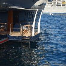 Seven Seas Yacht Swim Balcony