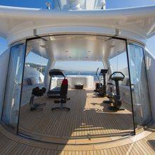 4You Yacht Gym on Sundeck