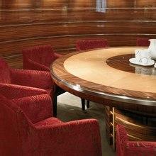 Maxima Star Yacht Table Detail