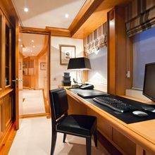 The Lady K Yacht Master office