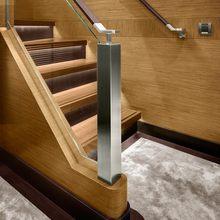 Kokomo III Yacht Staircase - Detail