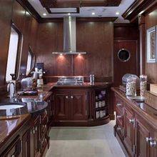Samar Yacht Upper Deck Galley