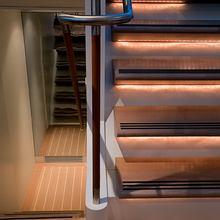 Yam 2 Yacht Stairwell