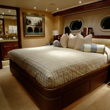 Nina Lu Yacht VIP Stateroom