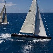 Yam 2 Yacht Running Shot - Profile