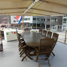 Elsa Yacht Exterior Dining