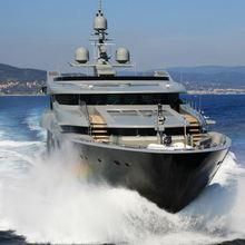 Nonni II Yacht Running Shot - Front View