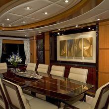 Reef Chief Yacht Dining Salon