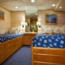 Rena Yacht Blue Twin Stateroom