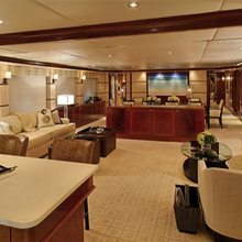Waku Yacht Main Salon
