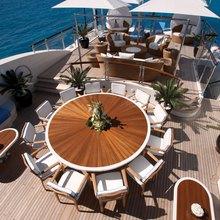 Vision Yacht Sundeck Dining Table