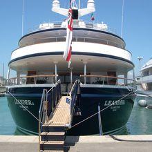 Leander G Yacht Stern - Moored