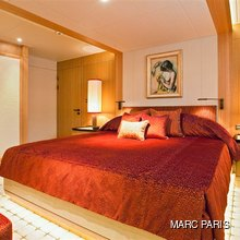 Ventum Maris Yacht Guest Stateroom - Red