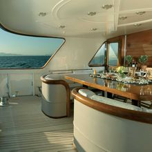 Anmad Yacht Aft Deck