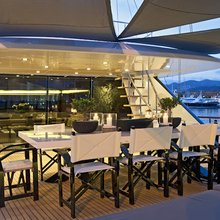 Infinity Yacht Exterior Dining