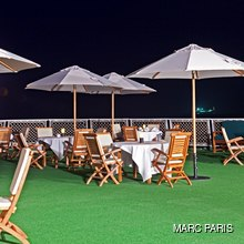Al Mabrukah Yacht Sundeck - Night
