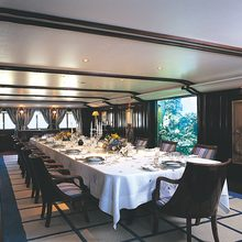 Golden Fleet Yacht Dining Salon