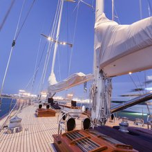 Seabiscuit Yacht Deck