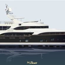 Checkmate Yacht Artist's Impression - Profile