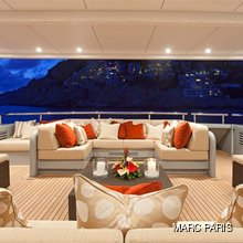 Ventum Maris Yacht Main Aft Deck